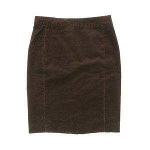 J. Crew No. 2 Pencil Skirt in corduroy